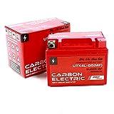 Batterie gel remplace la batterie YTX4L-BS 12 V 4 Ah préchargée et sans entretien comparable à la batterie YB4L-B YTX4-BS YTX5L-BS