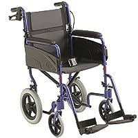 "Invacare Lightweight Aluminium Transit Wheelchair -16"" Seat Width"