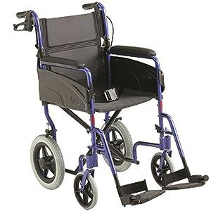 Invacare Lightweight Aluminium Transit Wheelchair