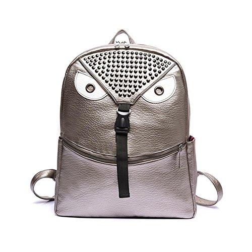 GBT Karikaturschulterbeutel-Handtaschenart und weise light gray