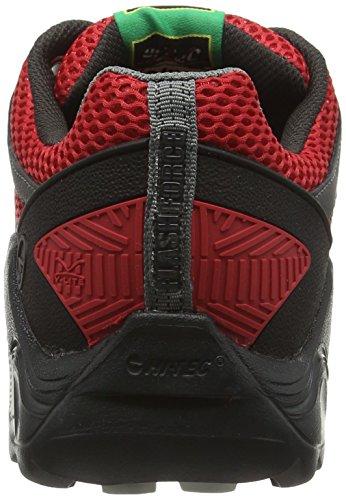 Hi-Tec V-Lite Flash Force Low I, Chaussures de Randonnée Basses Homme Noir (Black (Lingon/Black/Graphite 100)Lingon/Black/Graphite 100)