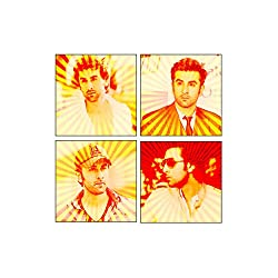 Ranbir Kapoor Coasters Acrylic (Set of 4)