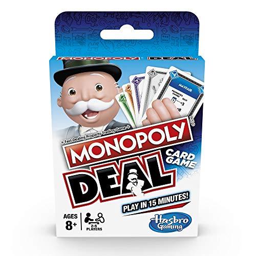 Hasbro Juego de Cartas Monopoly Deal Gaming