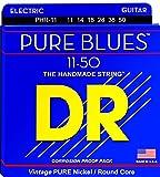 DR Strings PURE BLUES 11-50 Jeu de Cordes pour Guitare Electrique