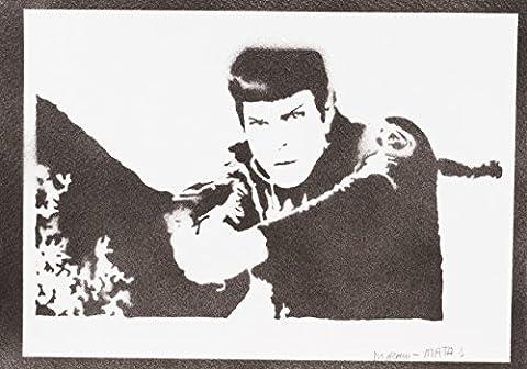 Nines Costumes - Spock STAR TREK Handmade Street Art -
