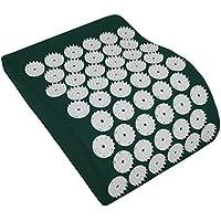 HQ acupresión–Almohada Reposacuellos, 31x 23cm Verde Shanti Relajación Cojín Green Eco