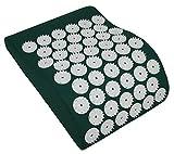 HQ digitopressione cuscino cervicale Iplikator, 31x 23cm Verde Shanti cuscino anatomico Green Eco