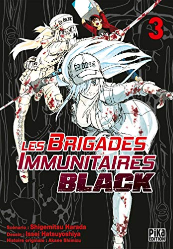 Les Brigades Immunitaires Black Edition simple Tome 3