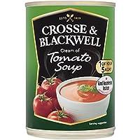 Crosse y Blackwell Crema de sopa de tomate 400g (paquete de 6 x 400 g)