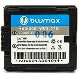 Blumax Batterie pour Panasonic VBD07075044