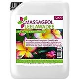 Huile de massage arôme leelawadee / frangipanier 5L (5000ml) - MyThaiMassage - Huile aromatique pour massage Thaï Wellness Spa …