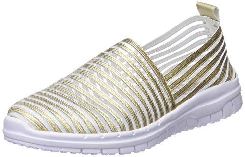 XTI Damen 48059 Slip On Sneaker Gold 38 EU