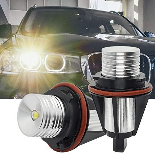 B-M-W Angel Eyes E39 E60 LCI Halo Ringlicht E87 LED Halo Ring Light Marker Ringe 10W CREE Licht Scheinwerfer Headlight Canbus Error Free E53 E61 E63 E64 E65 E66 E83 5 6 7 Serie X3 X5 Xenon Weiß 6000K