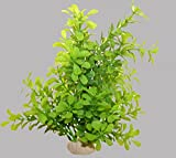 1 künstliche Pflanze für Ihr Aquarium, GROß, grün