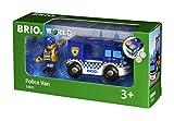 BRIO World 33825 - Polizeiwagen mit Licht und Sound