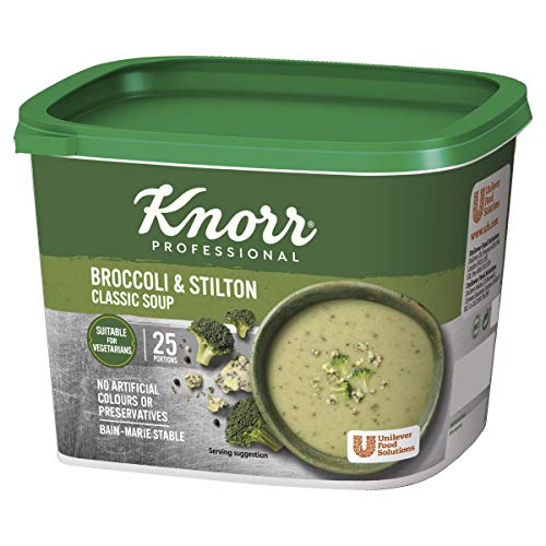 Knorr Classic Broccoli and Stilton Soup Mix, 25 Portions (Makes 4.25L)