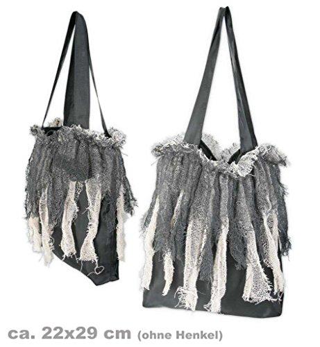 Halloween Zombie-Tasche - Kunststoff Halloween-kostüme Schwarz Tasche