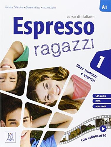 Espresso ragazzi. Corso di italiano A2. Con DVD-ROM por Andrea Camilleri