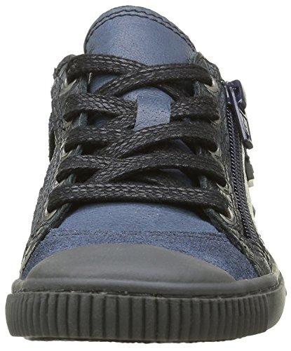 Pataugas Bisk/G J4b, Baskets Basses Garçon Bleu (Marine)