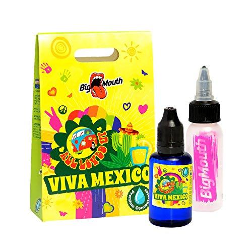 Big Mouth All Loved Up Aroma - Viva Mexico - 30ml Kaktusfeigen Cocktail Premium Konzentrat inkl. Mischflasche Nikotinfrei