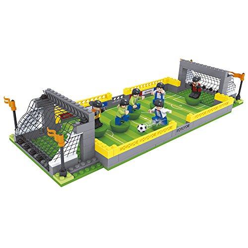 Ausini - Juego de construcción Campo de fútbol - 213 piezas (ColorBaby 42828)