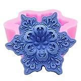 Myfashionhair Stampo in silicone artigianale per candela, sapone fatto a mano, artigianato, cioccolato, muffin, ghiaccio