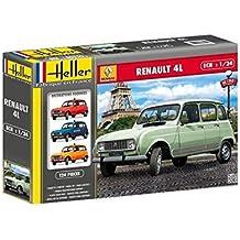 Maqueta Coche Renault 4L Kit de Montaje. Escala 1/