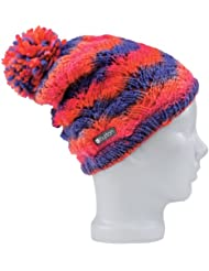 Burton W's Grin And Wear It Beanie Damen Bommel-Strickmütze