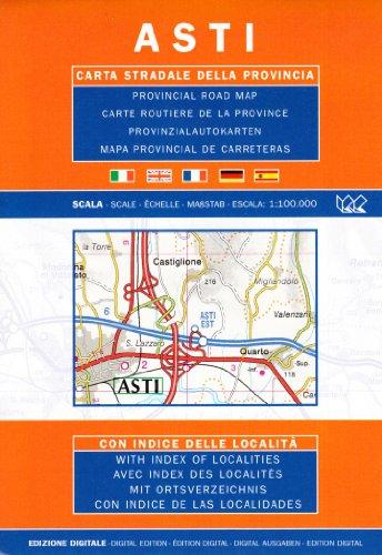 Asti 1:100.000 par  Litografia Artistica Cartografica