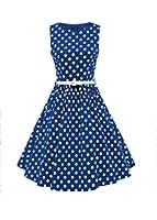 Luouse 'Audrey' Hepburn Stil Vintage Clarity Kleid im 50er-Jahre-Stil