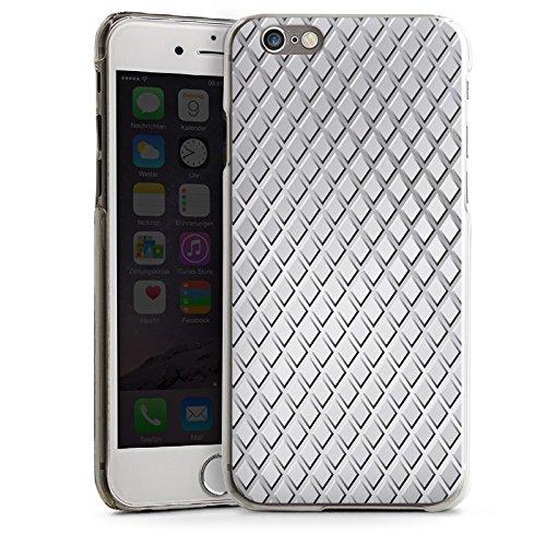 Apple iPhone 5s Housse Étui Protection Coque Acier Losanges Motif CasDur transparent
