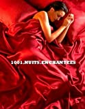 1001noches Enchantees ropa de cama satén rojo–6pcs–Funda de edredón de 220x 230–Sábana bajera ajustable 150x 200cm