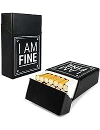 Tuff-Luv Cigarette de silicone couverture de cas Nouveauté - Noir (I am Fine)