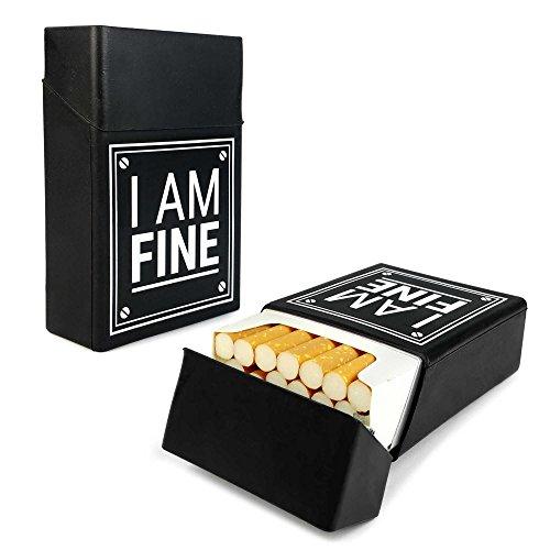 tuff-luv-silicone-cigarette-case-cover-novelty-black-i-am-fine