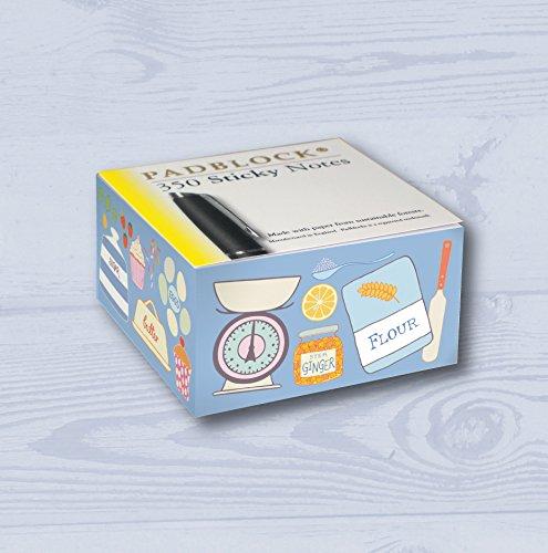 Padblocks Sticky Notes Nachricht Pad-Blau Backen Küche - Espresso Teppich