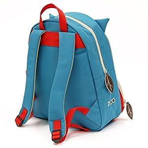 51V4omKPeJL. SS300  - Nikidom- Pajaro Skip Hop Zoo Mochila, Color Azul, Unica (0879674002180)