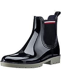 Tommy Hilfiger  O1285laya 1r , Damen wellington boots