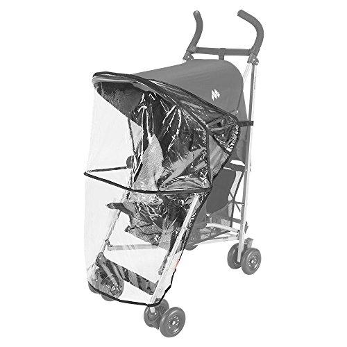 Maclaren Volo/Globetrotter - Burbuja de lluvia para silla de paseo, color transparente