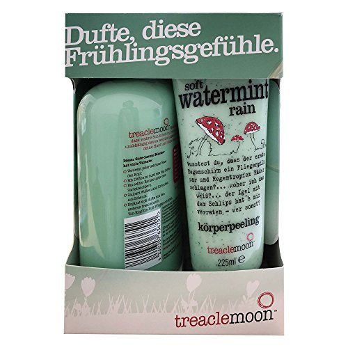 treacemoon Geschenkset soft watermint rain (duschcreme 500ml, körperpeeling 225ml) (1er Pack)