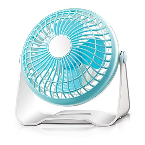 """Mute 7 """"Inch 2 in 1 Clip On & Stand Desk Tisch Regal Fan Portable 2 Geschwindigkeit einstellbar 150 ° Kühlung Home Office Fan"""