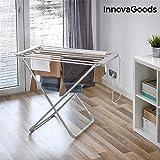 InnovaGoods etend'mieux étendoir électrique Pliable, Aluminium et ABS, Gris, 94x...