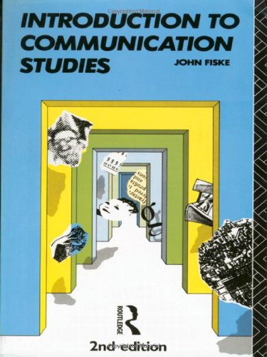 Introduction to Communication Studies (Studies in Culture and Communication)