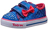 Skechers Shuffles Sweet Steps, Sneakers Basses fille, Bleu (Bleu Roi), EU:21 (UK: 4 Child)