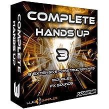 Complete Hands Up Vol. 3 - Construction Kits Sample Pack - Wir präsentieren stolz 8 neue Hands Up construction kits von Axamathic. Wie schon in den ersten beiden Teilen sind d... [WAV + MIDI Files] [Instant Download]