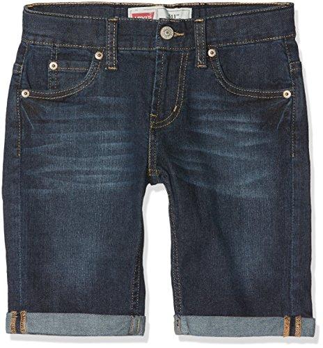 Levi's Kids Jungen Shorts NL25087, Blau (Denim 46), 128 (Herstellergröße: 8A) -