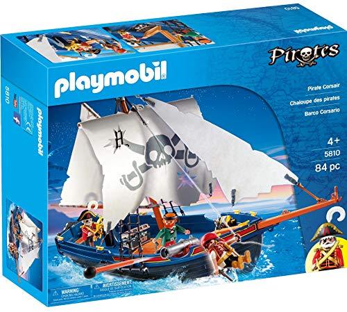 PLAYMOBIL Piratas - Barco corsario 5810