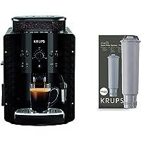 Krups Essential EA8108 Kaffeevollautomat | Espresso und Kaffee | mit CappucinoPlus- Milchdüse | Schwarz & F 088 01…