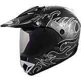 Römer 131101 Casque Moto Motocross/MX MX, Noir/Blanc, XS