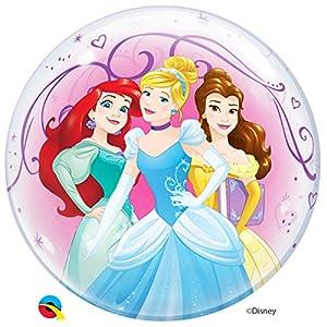 Qualatex globos de látex para 46725sola burbuja Princesas Disney, 55,9cm (22)