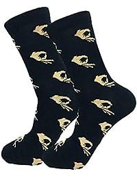 BaZhaHei-Calcetines, Calcetines de algodón Ocasionales Unisex Calcetines de Moda para Hombre calcetín Socks
